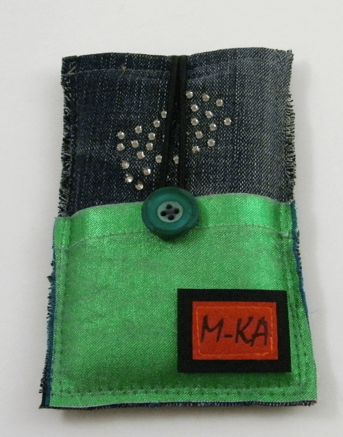 upcycling Handytasche